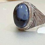 Silver Ring Aqeeq Sulimani  AED 150